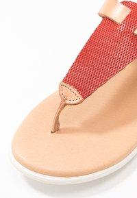 Grand Step Shoes - FLORA - T-bar sandals - sand/lipstick - 2