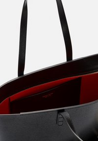 Mansur Gavriel - SMALL ZIP TOTE - Tote bag - black/flamma - 7