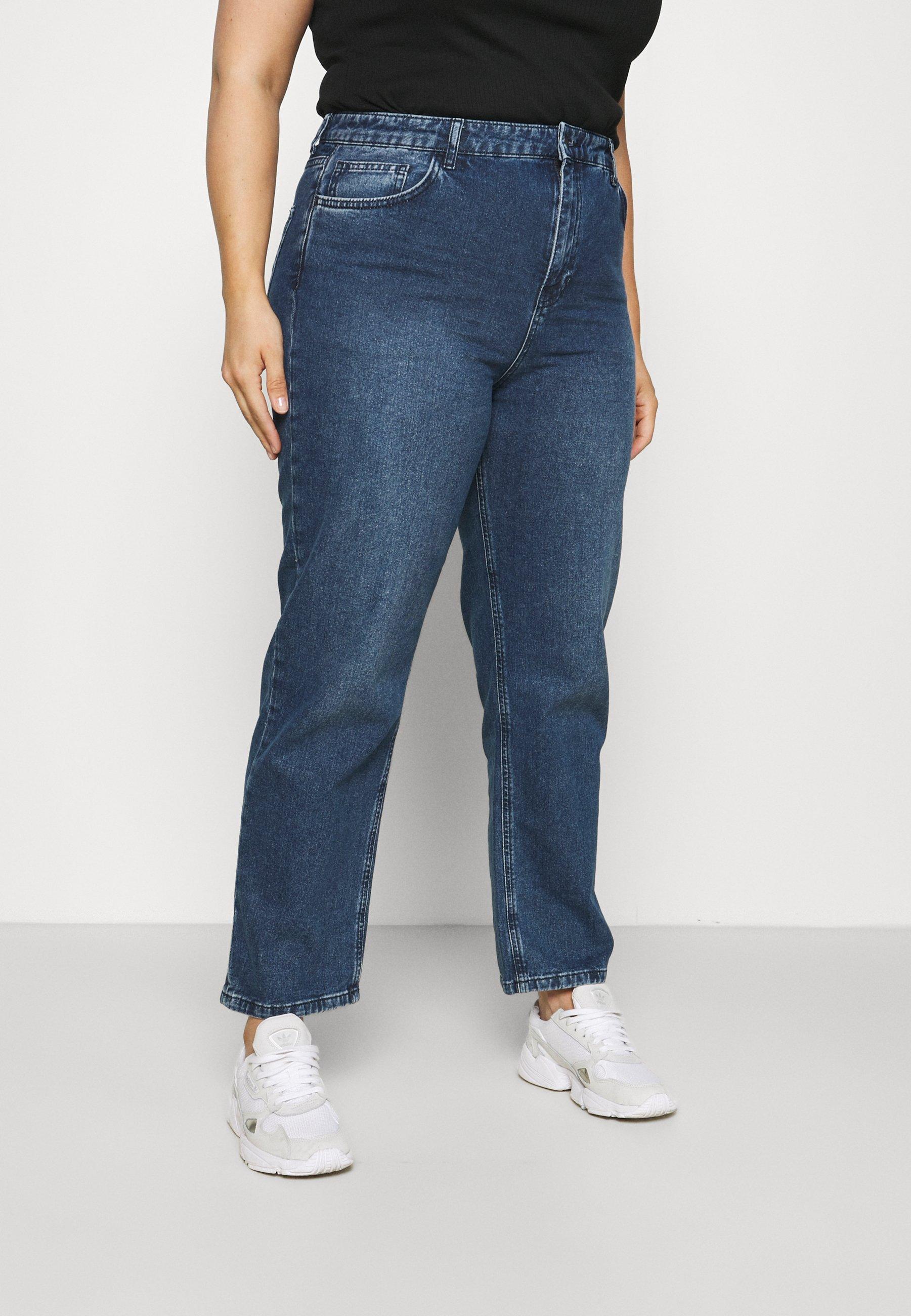 Women HIGH RISE - Straight leg jeans