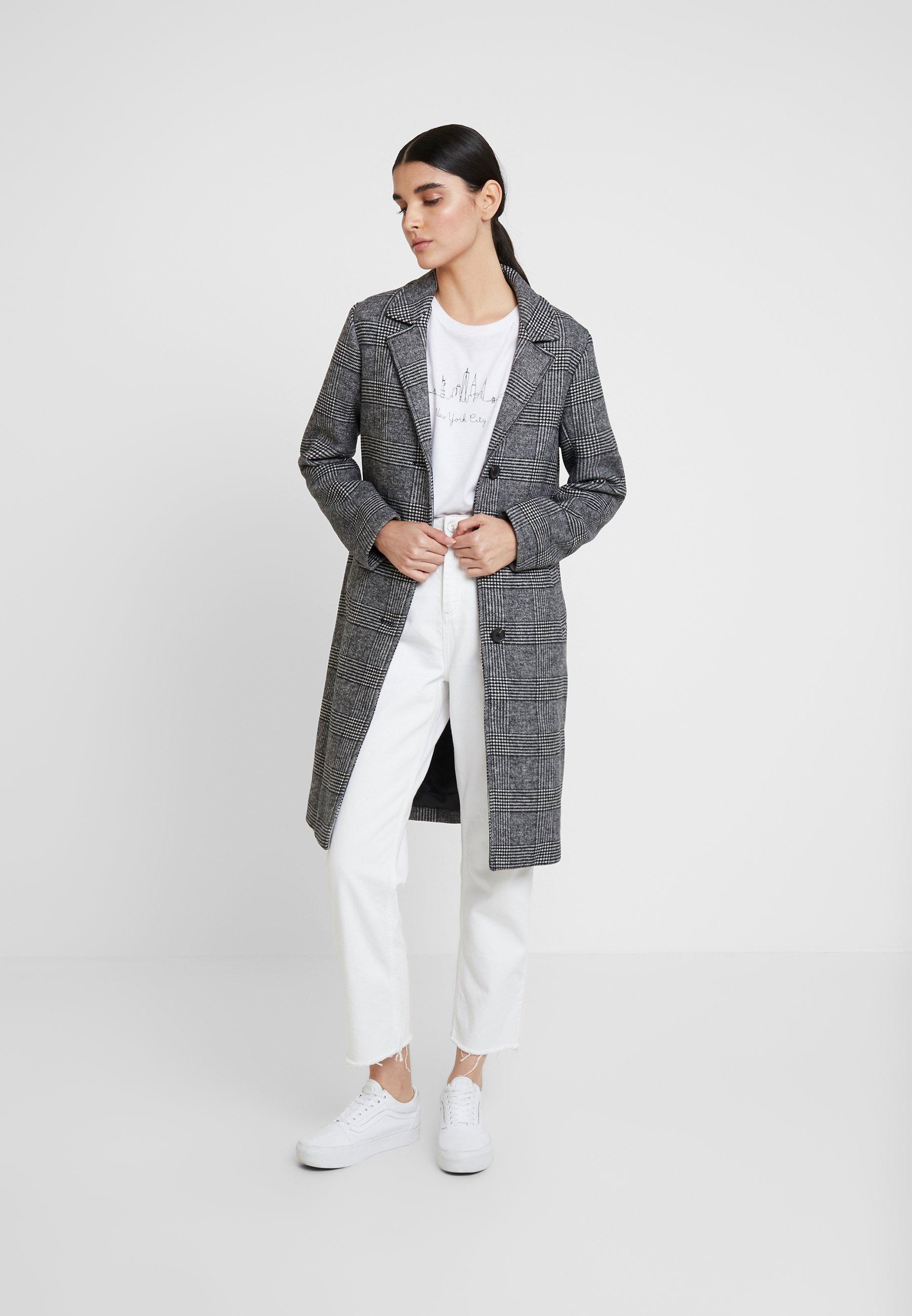 Abercrombie & Fitch Kort kåpe / frakk - grey
