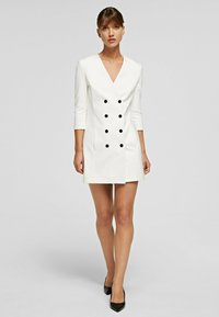 KARL LAGERFELD - Shirt dress - off white - 0