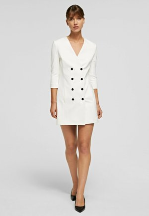 Shirt dress - off white