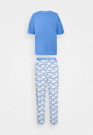 LOUNGE JOGGER - Pyjama - blue