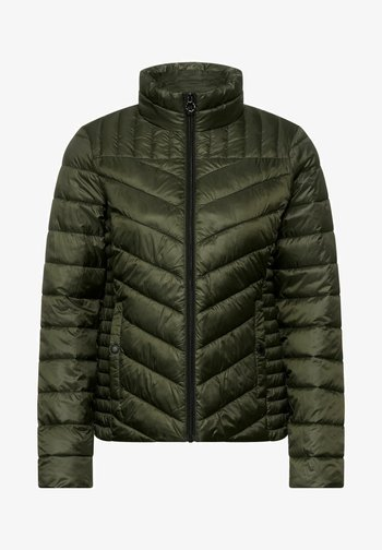 IN STEPP OPTIK - Winter jacket - grün