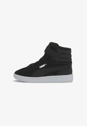 VIKKY MID - High-top trainers - black white