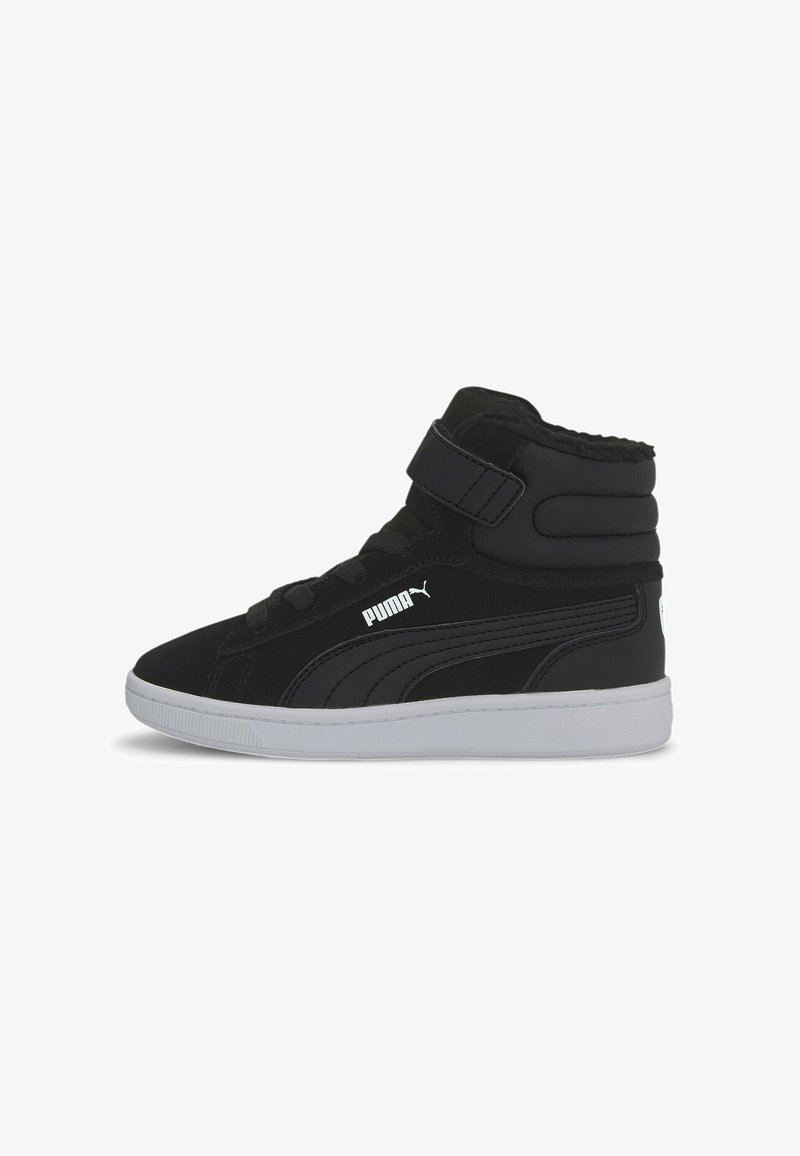 Puma - VIKKY MID - High-top trainers - black white