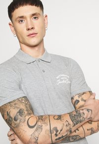 Jack & Jones - JJHERO  - Polo - grey - 3