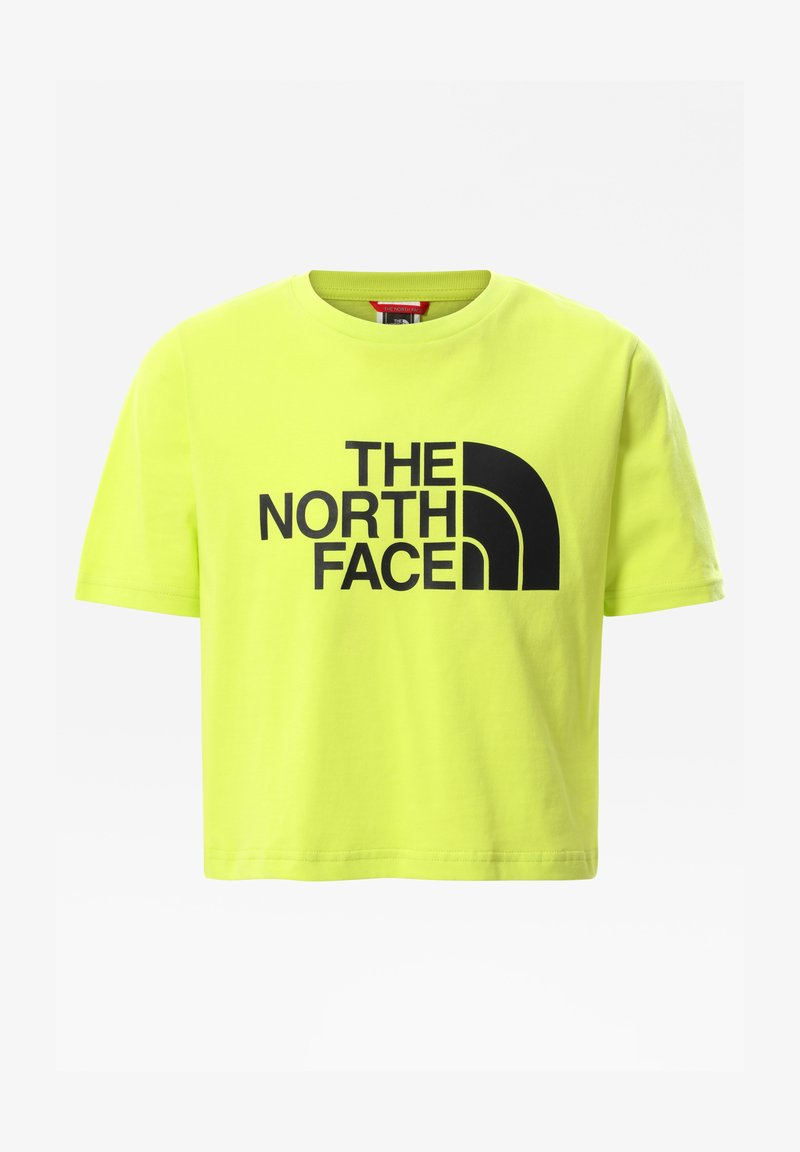 The North Face - G S/S EASY CROPPED TEE - Print T-shirt - sulphur spring green