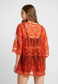 Honey Punch - SHORT KIMONO - Summer jacket - rust - 2