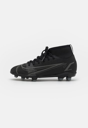 MERCURIAL 8 CLUB MG UNISEX - Moulded stud football boots - black/iron grey