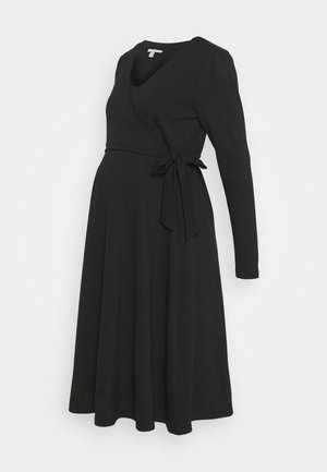 DRESS NURSING - Žerzejové šaty - gunmetal