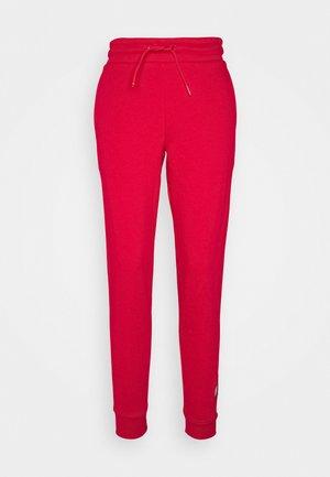 CUFFED FLAG LOGO - Teplákové kalhoty - primary red