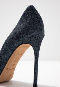 Pura Lopez - High heels - navy glitter - 2