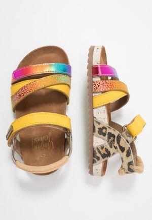 VIENNA - Sandals - multicolor/yellow