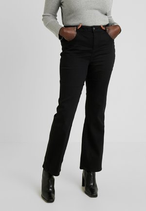 ELLIS - Bootcut jeans - black