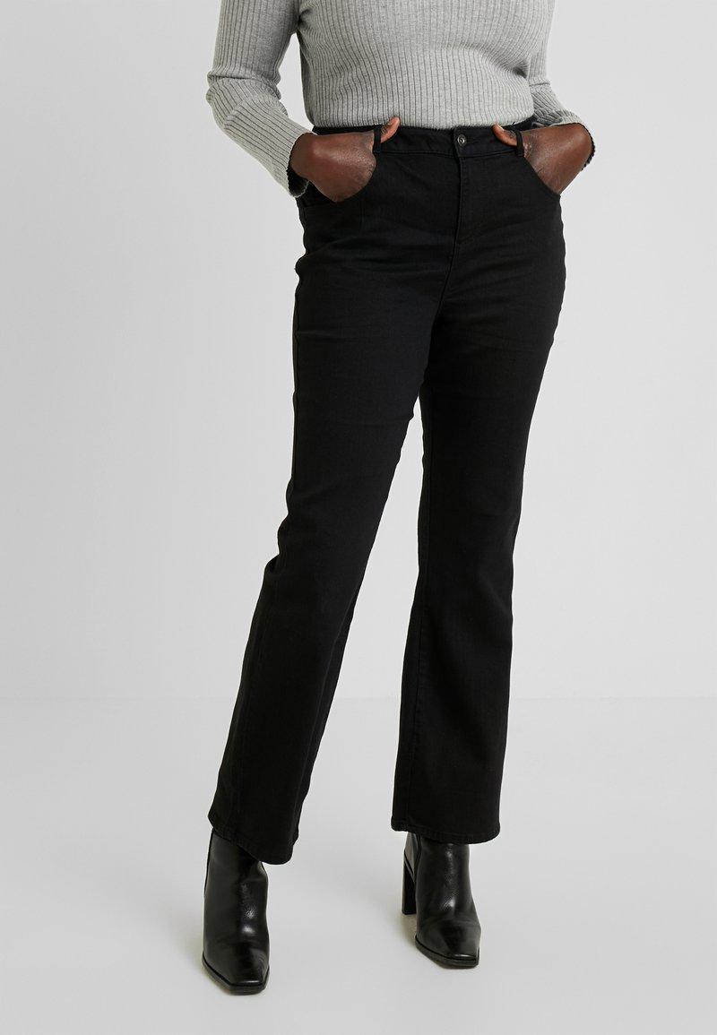 Dorothy Perkins Curve - ELLIS - Jeans bootcut - black