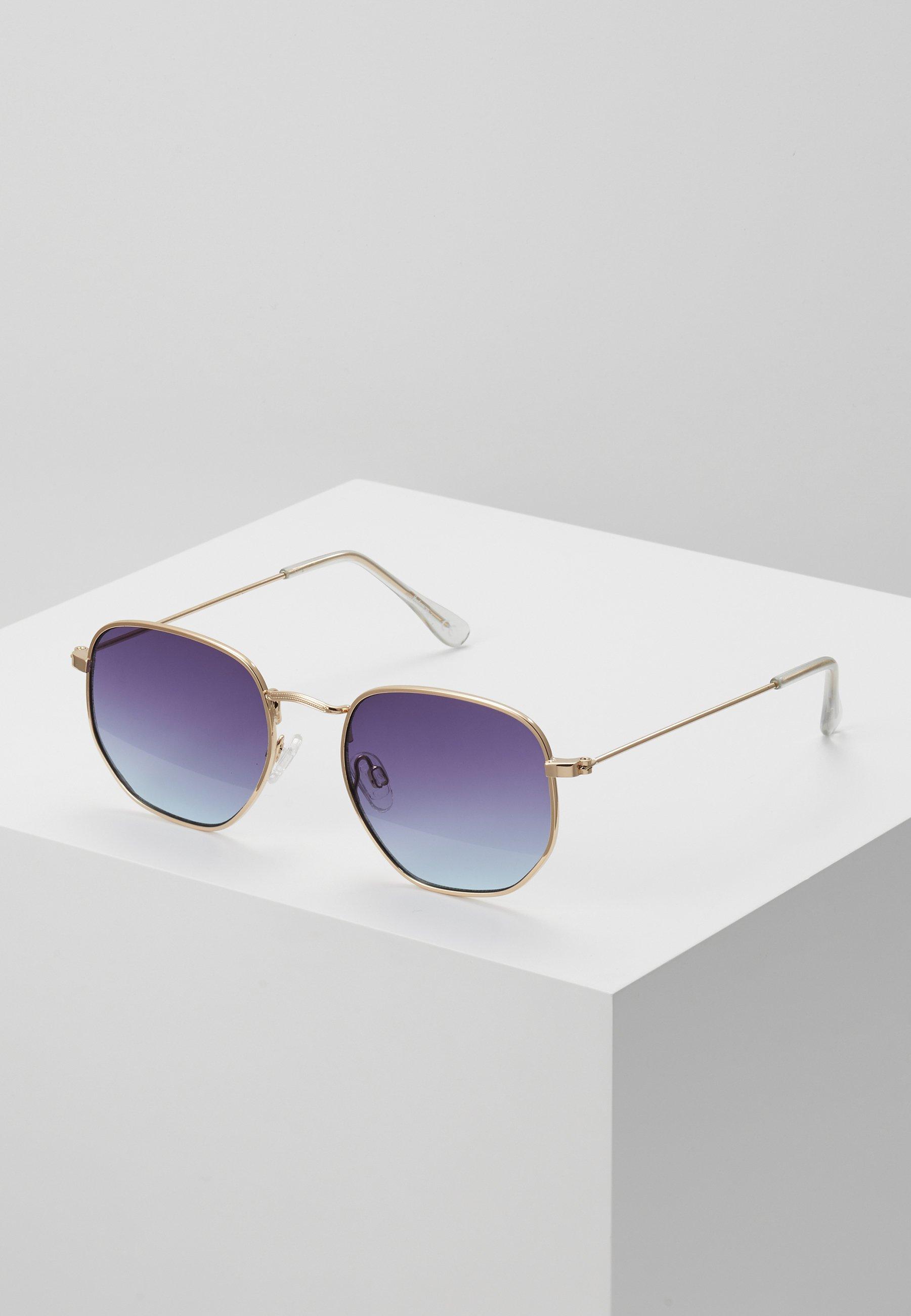 Men Sunglasses - gold-coloured/purple to blue