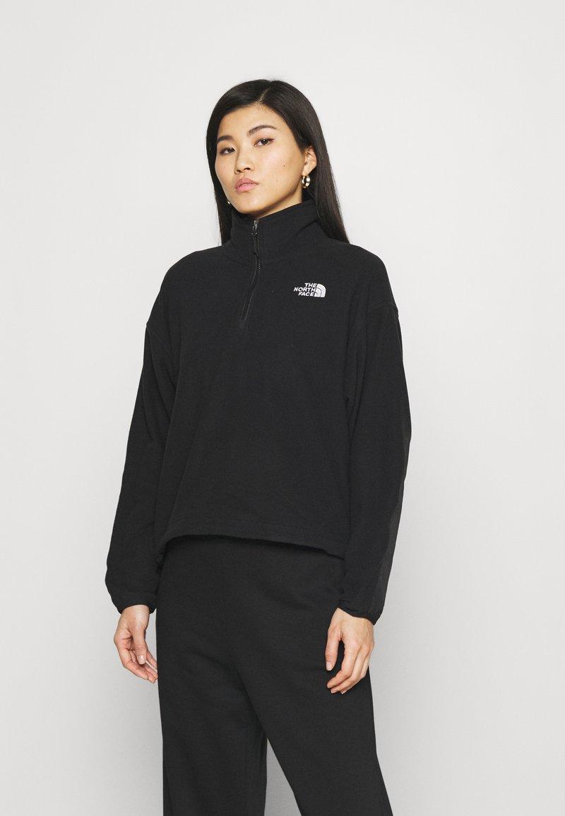 The North Face - ICE FLOE  - Fleece jumper - black