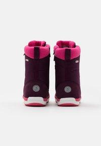 Reima - REIMATEC FREDDO UNISEX - Winter boots - deep purple - 2