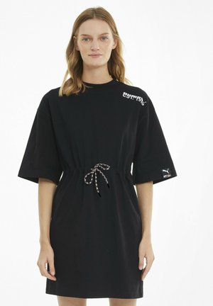 INTERNATIONAL  - Jersey dress - puma black