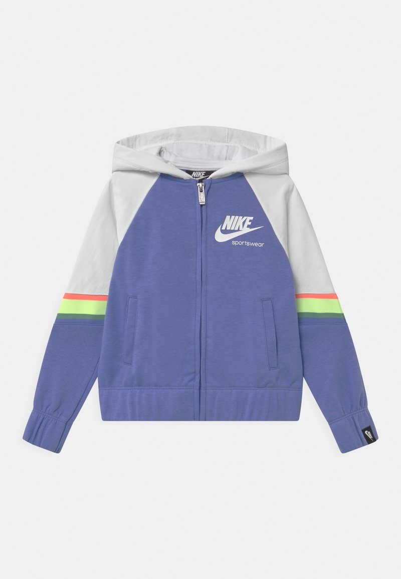 Nike Sportswear - HERITAGE  - Mikina na zip - royal pulse