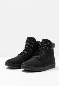Timberland - DAVIS SQUARE 6 INCH - Sneakers hoog - black - 3