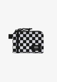 Vans - UA VANS POUCH WALLET - Wallet - black/white check - 0