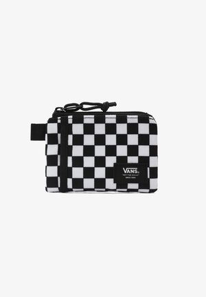 UA VANS POUCH WALLET - Wallet - black/white check