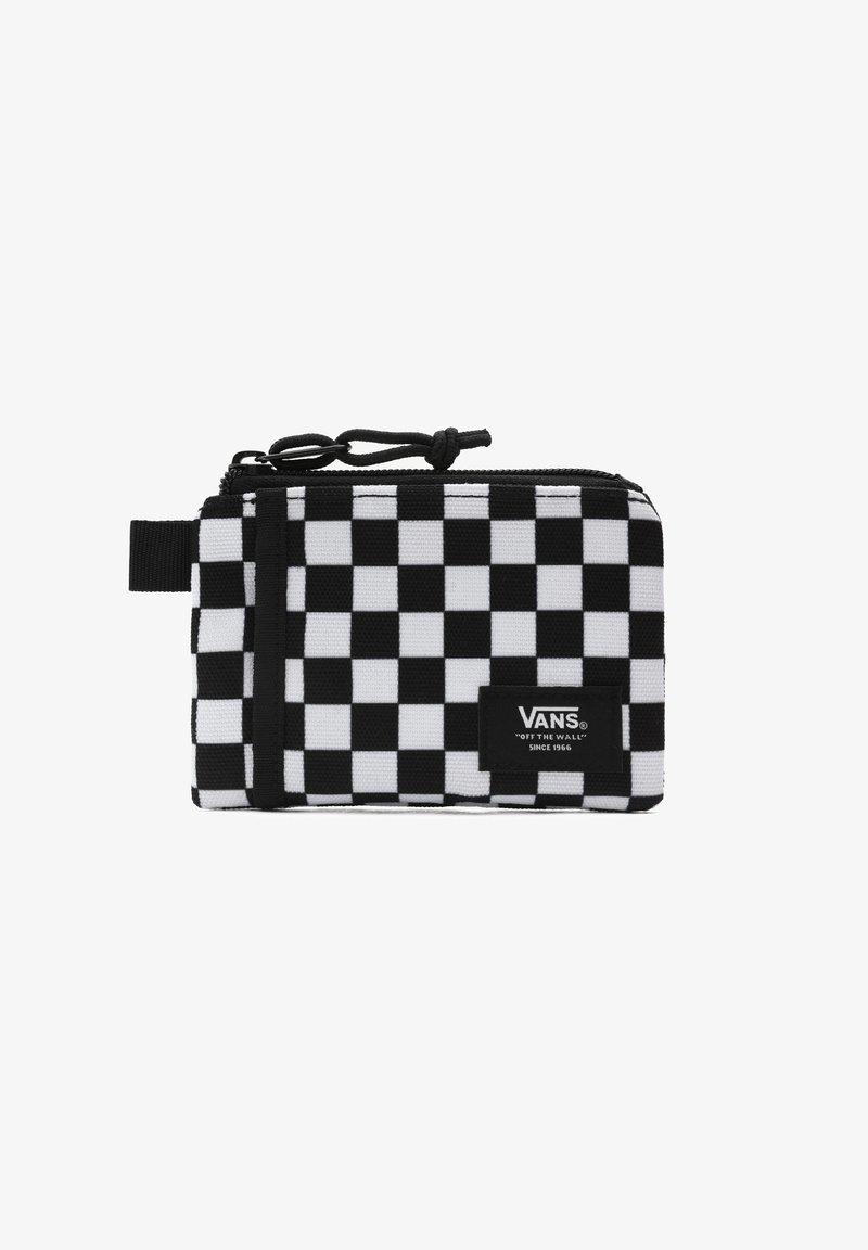 Vans - UA VANS POUCH WALLET - Wallet - black/white check