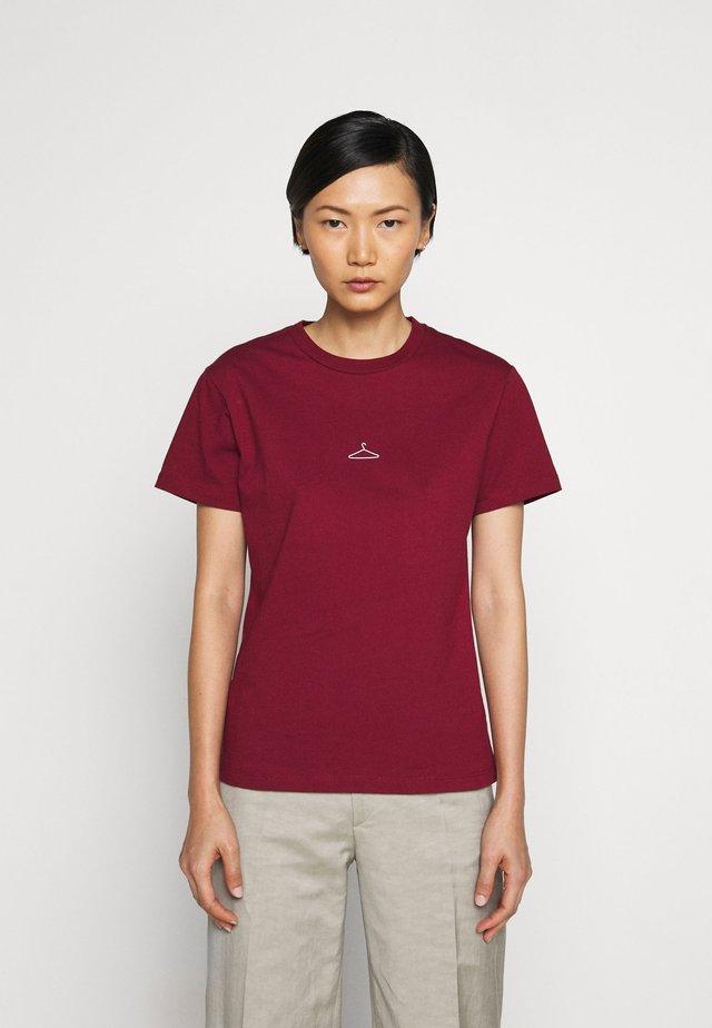SUZANA TEE - T-shirt basic - bordeaux