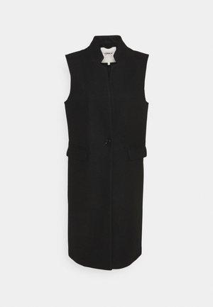 Waistcoat - black/solid