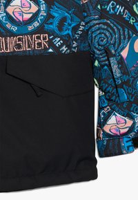 Quiksilver - MISS BLOC - Snowboard jacket - black bark to the moon - 2