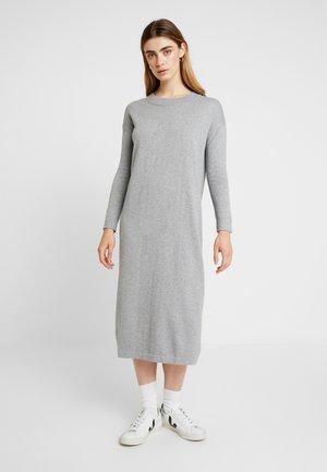 KAREN DRESS - Maxikjoler - grey melange