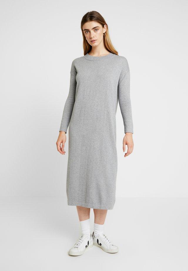 KAREN DRESS - Maxi dress - grey melange