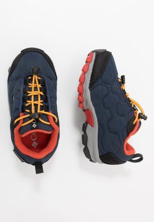 CHILDRENS FIRECAMP SLEDDER WP - Hiking shoes - collegiate navy/flame