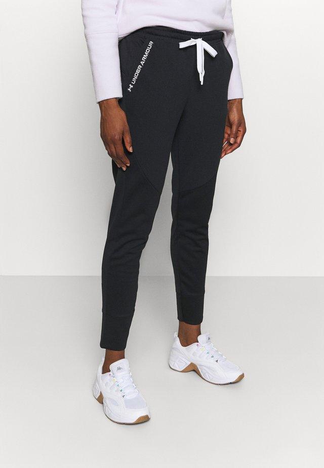 RECOVER PANTS - Pantaloni sportivi - black