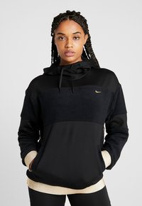 Nike Performance - ICON - Jersey con capucha - black/metallic gold - 0