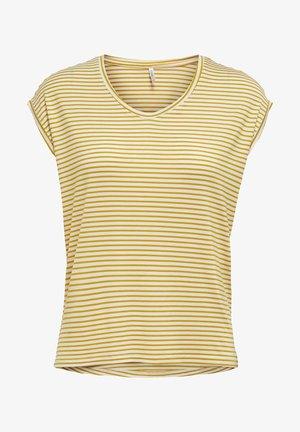 MIT KURZEN ÄRMELN LOCKERES - Print T-shirt - golden spice