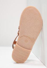 Les Tropéziennes par M Belarbi - HIRSON - T-bar sandals - tan - 4