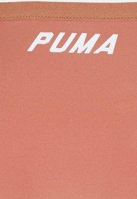 Puma - SWIM WOMEN BRIEF - Bikini bottoms - brown - 2