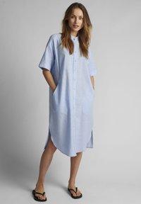 Nümph - Shirt dress - airy blue - 0
