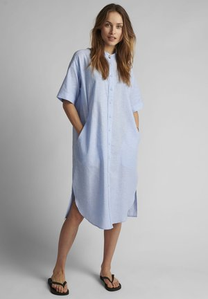 Shirt dress - airy blue