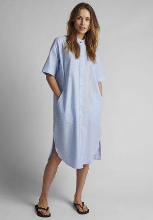 Skjortekjole - airy blue