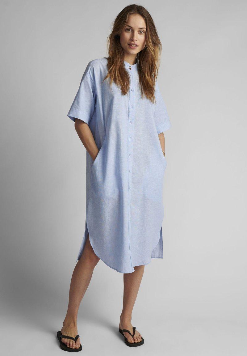 Nümph - Shirt dress - airy blue