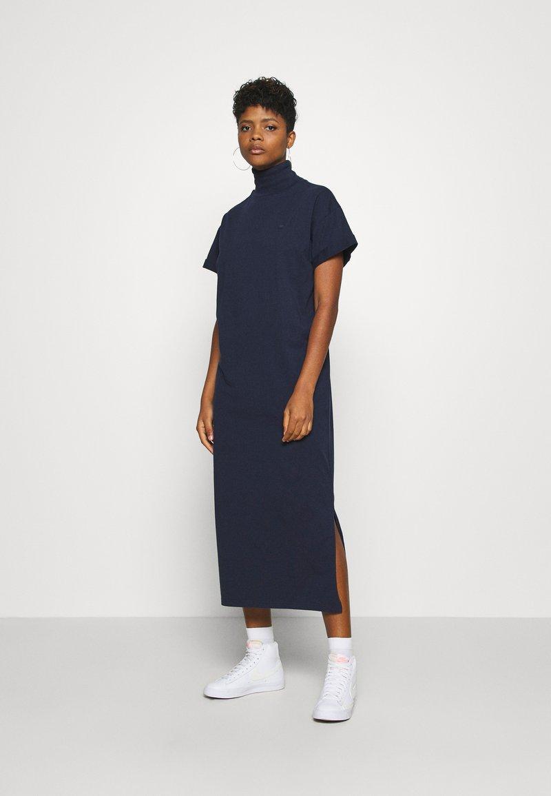 G-Star - NEW DISEM TURTLE DRESS  - Jersey dress - sartho blue