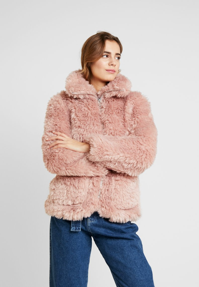 Topshop - FLUFFY JONAS - Winter jacket - pink