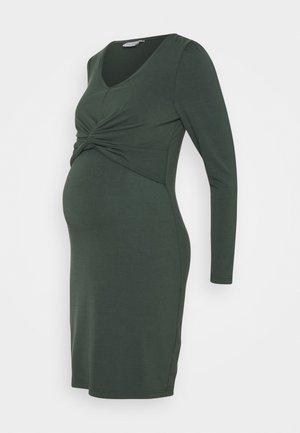 MLMACY JUNE DRESS - Sukienka z dżerseju - balsam green