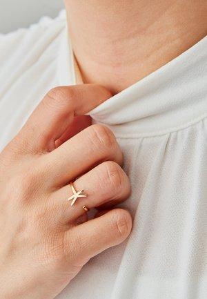 RING K - Ring - gold