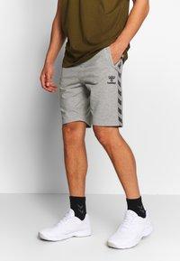 Hummel - HMLMOVE  - Sports shorts - grey melange - 0