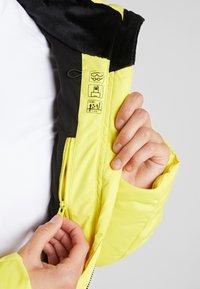 Ziener - TALMA LADY - Kurtka narciarska - yellow power - 5